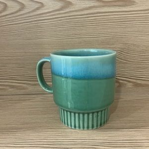 Other - 🐥 2/20 Green and blue ombré glazed mug - small